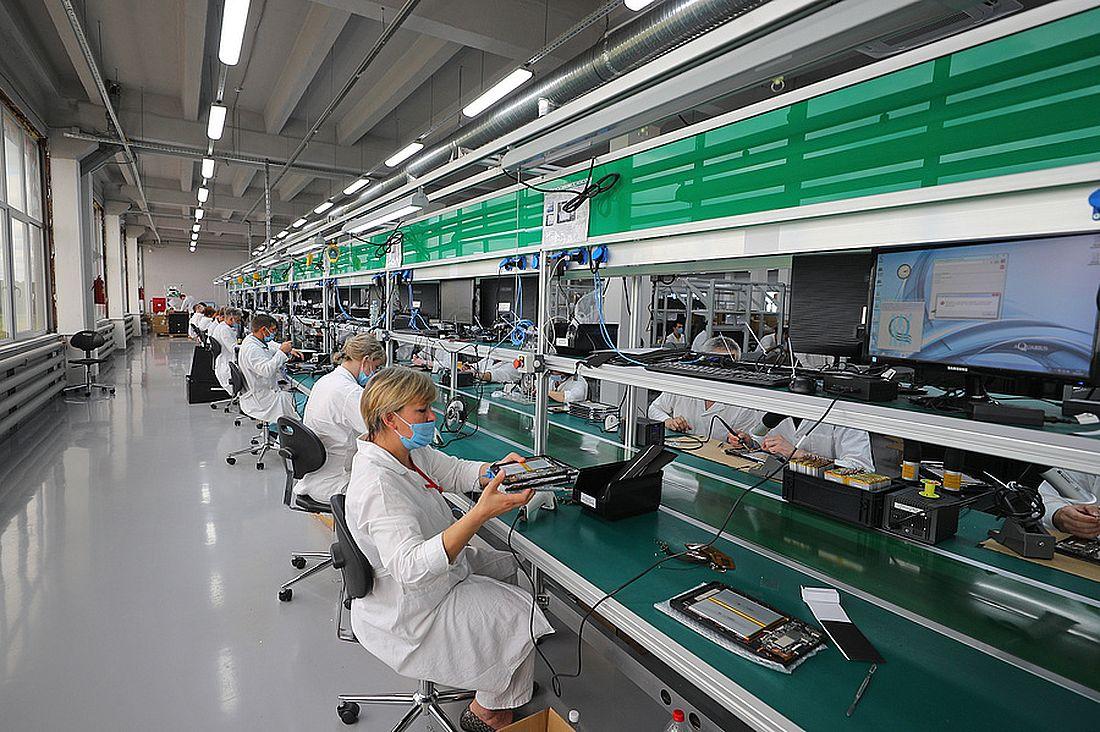 Производство электронных планшетов для переписи населения на заводе в Ивановской области