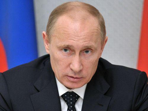Президент РФ Владимир Путин прибыл в Красноярск