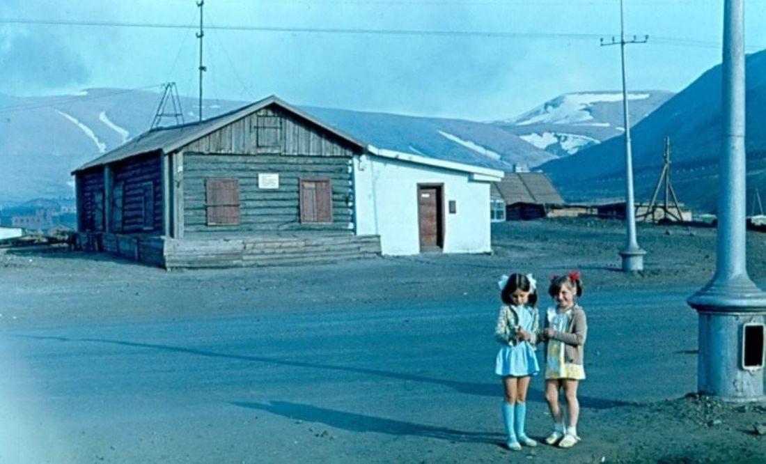 Первый дом Норильска на Нулевом пикете, 1972 год