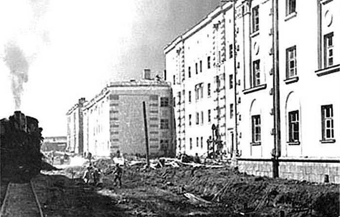 Улица Севастопольская, 1945 год