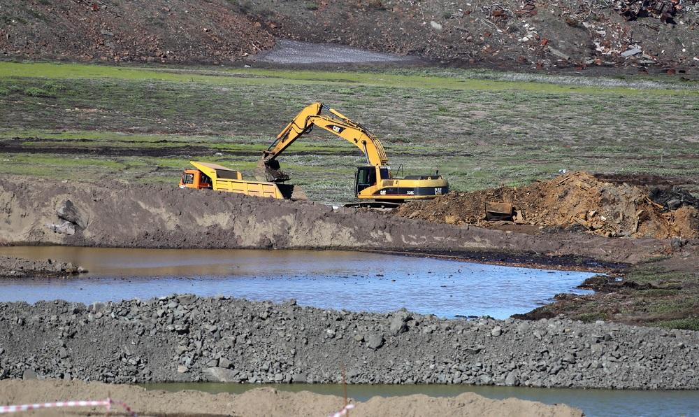 В места складирования на территории ТЭЦ-3 за сутки вывезли 7 493 тонны грунта