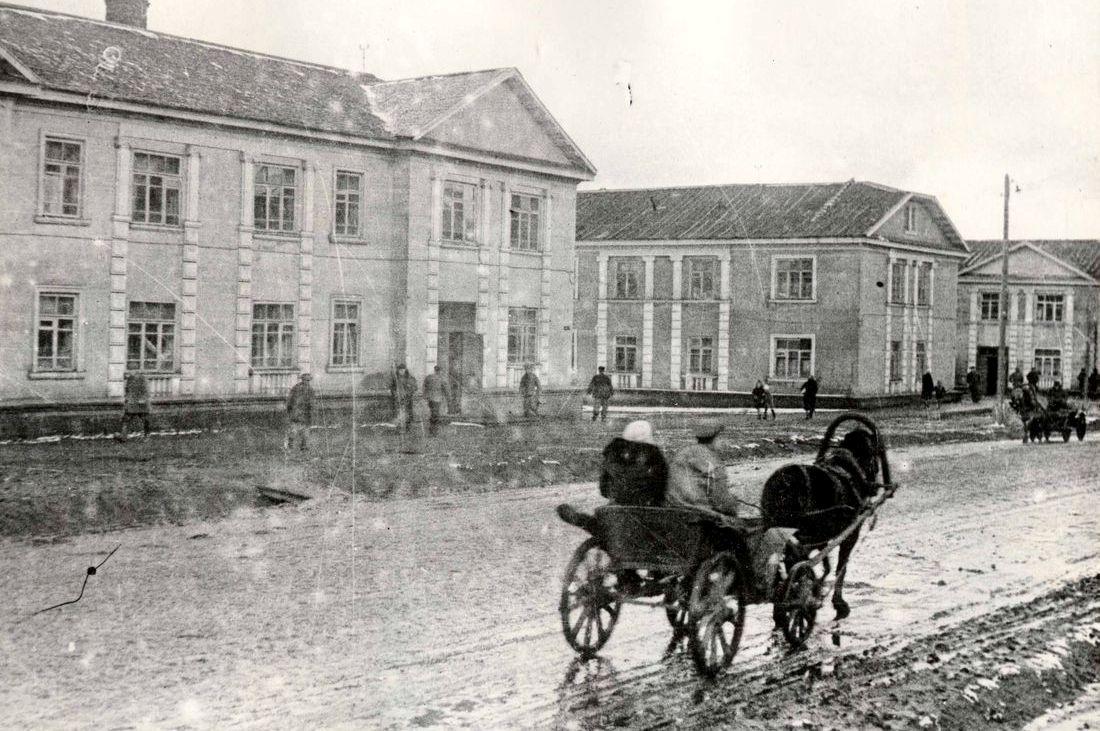 Улица Заводская, 1940-е годы