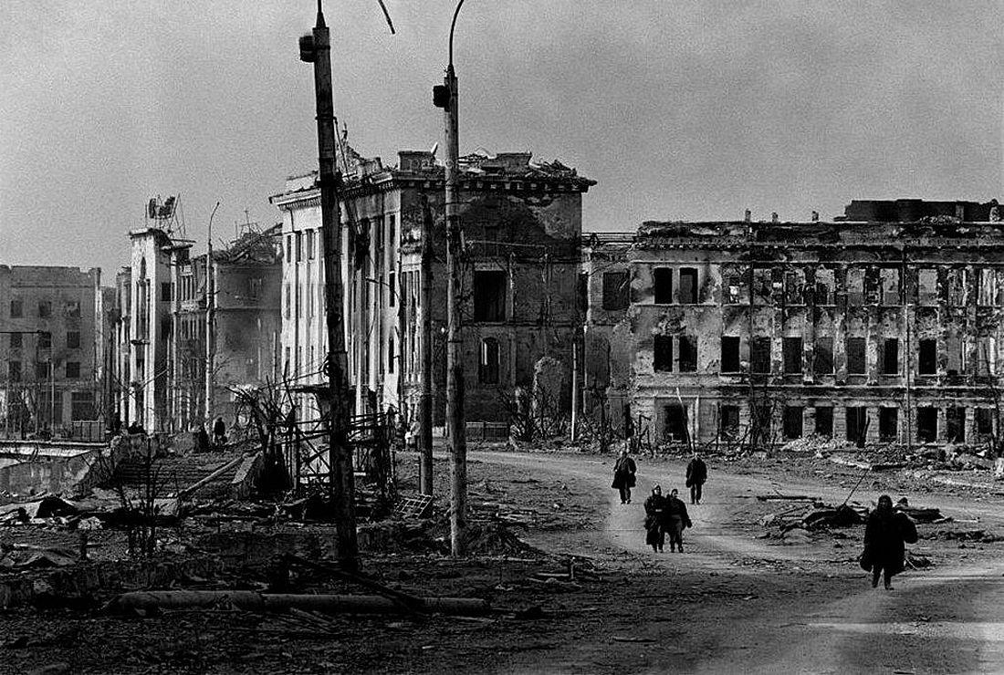 Разрушенный Грозный, 1995 год