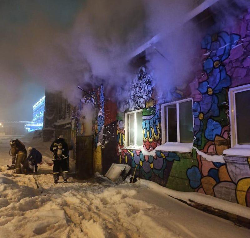 В приюте для животных в Норильске произошел пожар