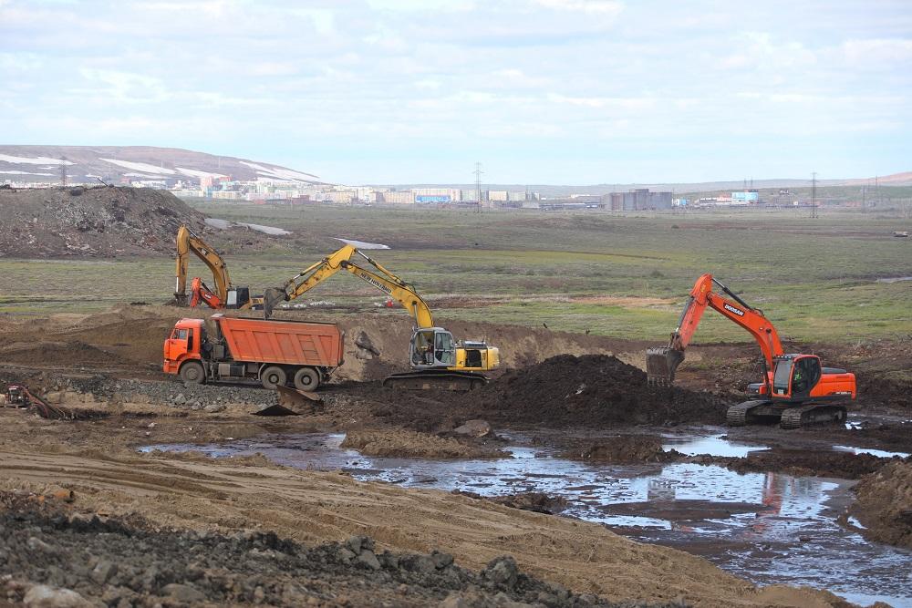 С территории ТЭЦ-3 вывезли 130 тысяч тонн загрязненного грунта