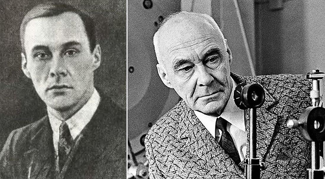 Николай Козырев в молодости и зрелом возрасте
