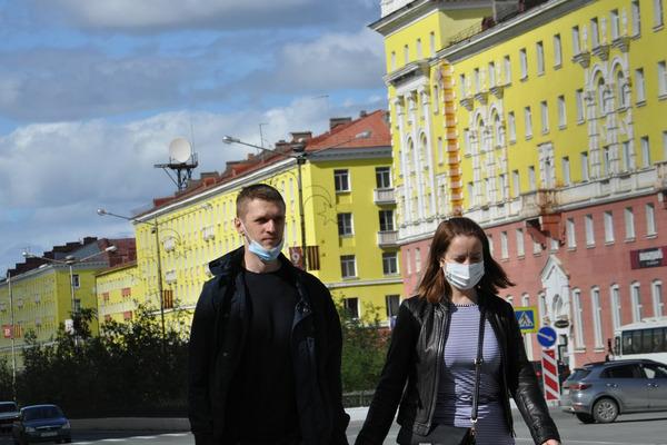 В Норильске зарегистрировано 640 случаев коронавируса