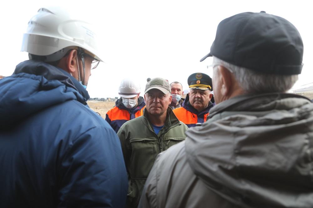 Глава МЧС России Евгений Зиничев в Норильске
