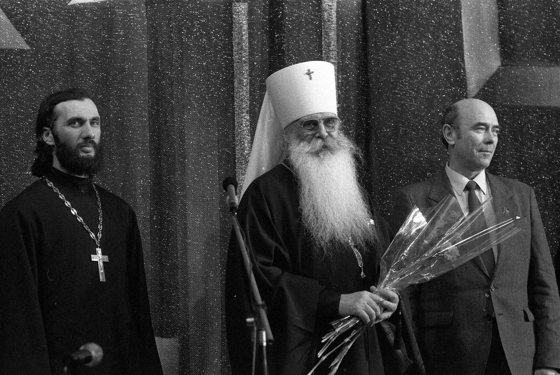 В 1990-м в Норильск впервые прилетел митрополит Питирим