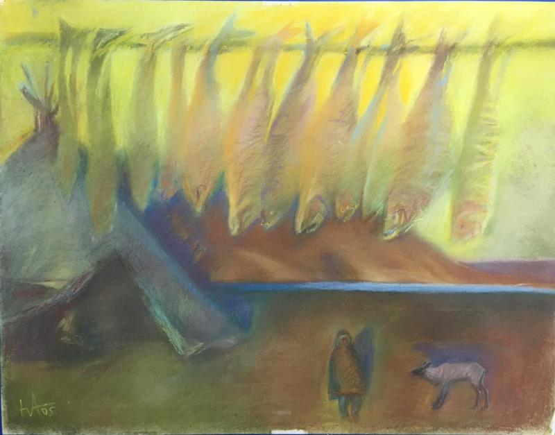 В Дудинке завершается выставка «Юрий Афонов. Аргиш продолжается»