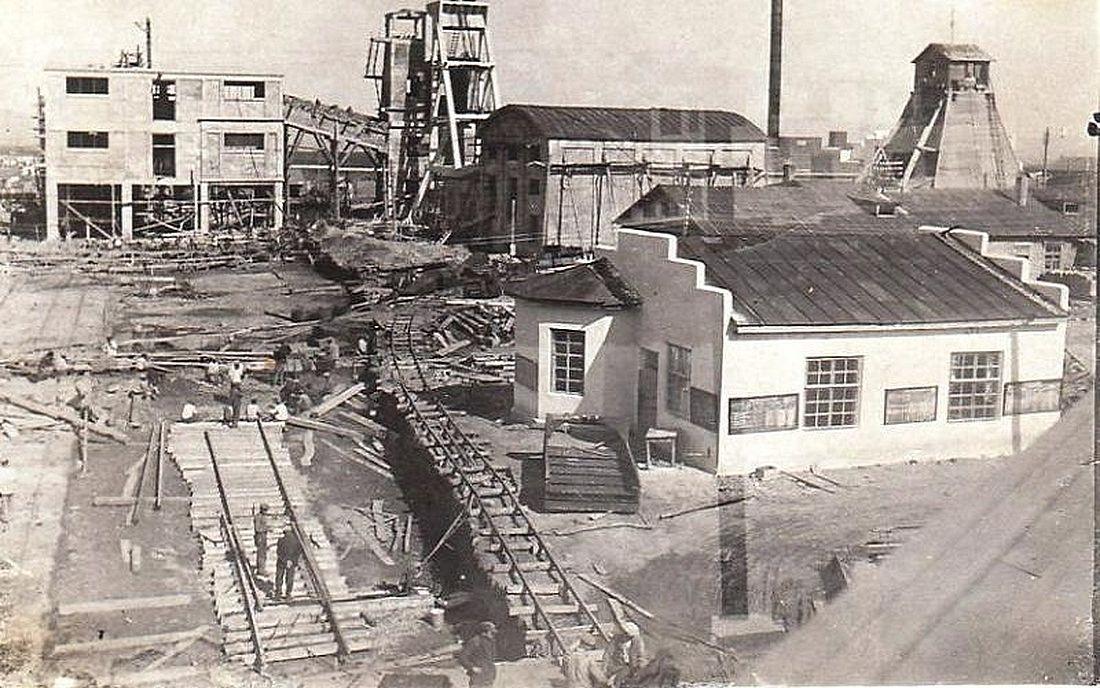 Строительство шахты «Дальневосточная», 1930-е годы