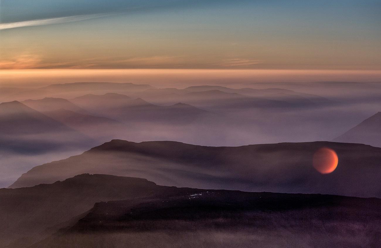 Туман над плато Путорана