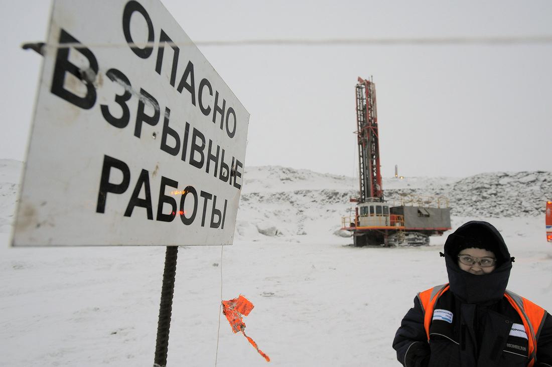Дочерняя компания «Норникеля» форсирует работы по вскрыше запасов руды с высоким содержанием платины