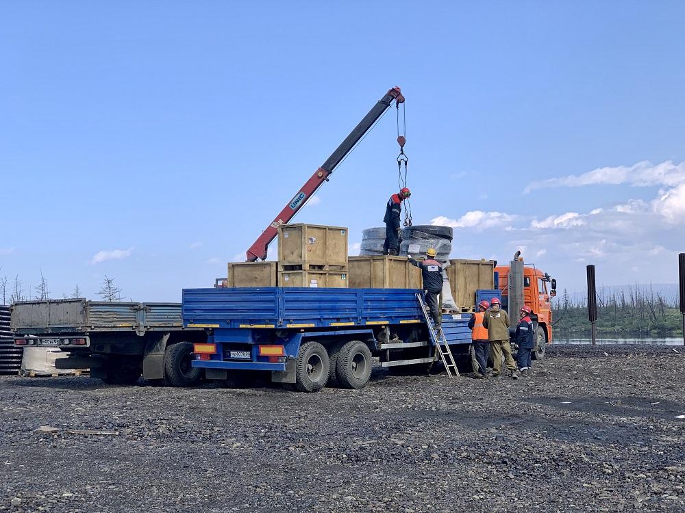 «Норникель» завозит оборудование для перекачки топливно-водяной смеси