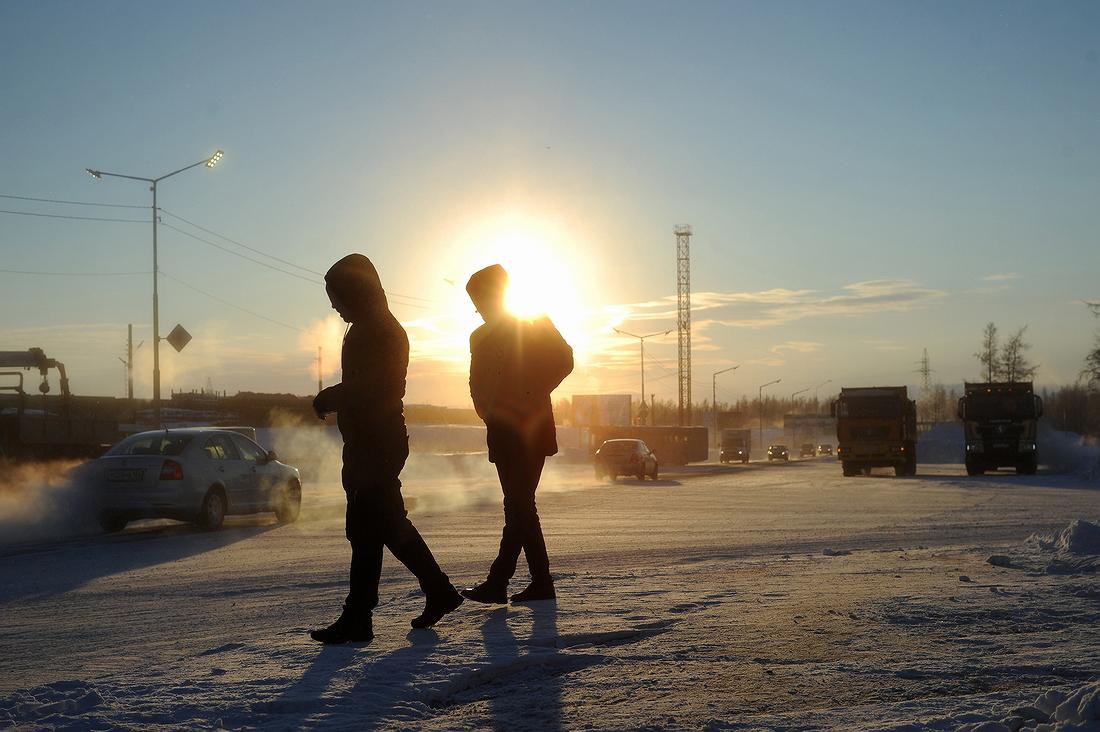 Дни все короче: скоро в Норильск придет полярная ночь