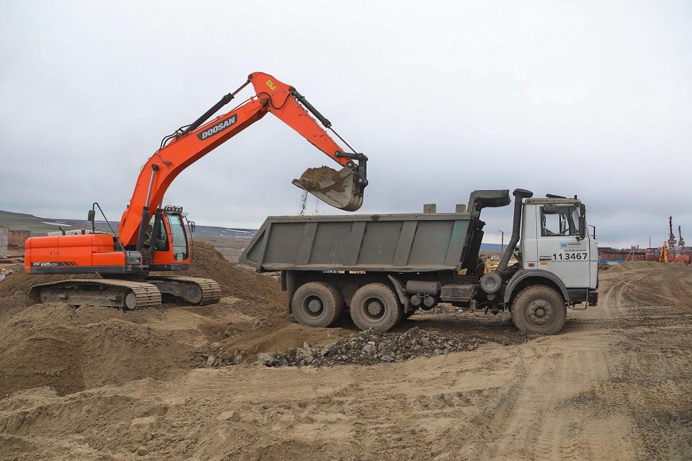 С территории ТЭЦ-3 вывезли 66 тысяч тонн загрязненного грунта
