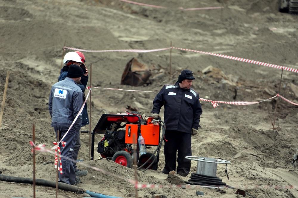 Специалисты «Норникеля» работают на территории, непосредственно прилегающей к ТЭЦ-3