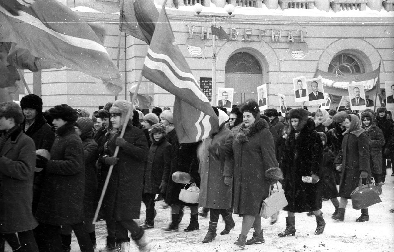 В середине 1950-х норильские праздники «переехали» на новые улицы