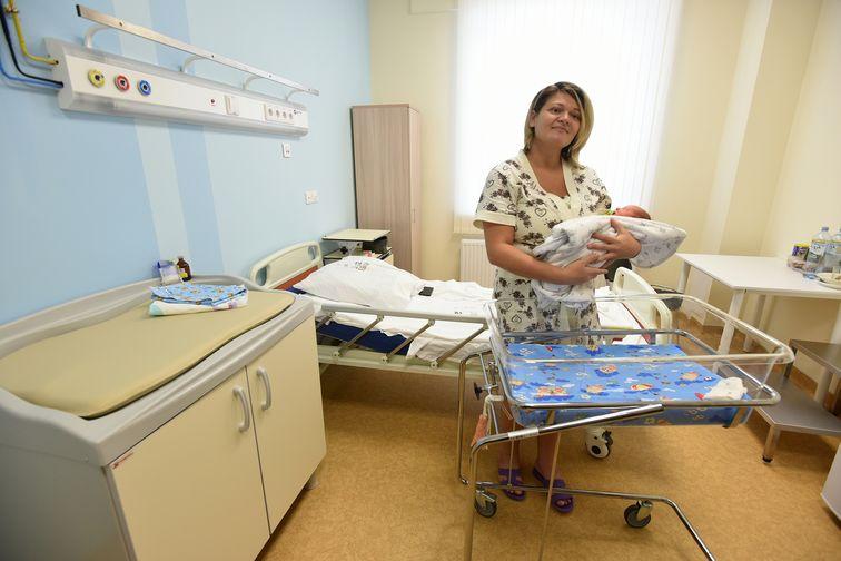 Уже двенадцать новорожденных появились на свет в Норильском перинатальном центре