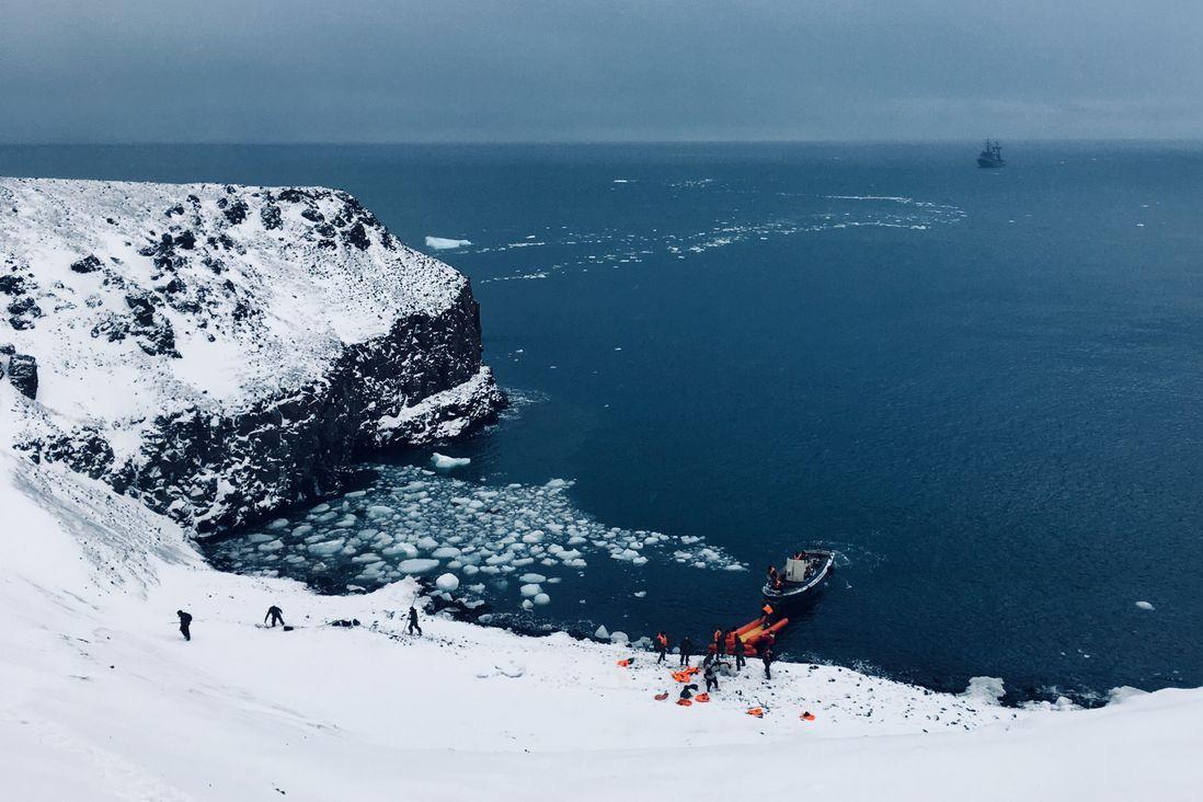 Комплексная экспедиция РГО и Северного флота в 2019 году