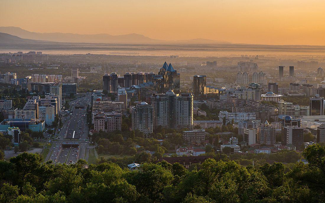 Современный Алматы
