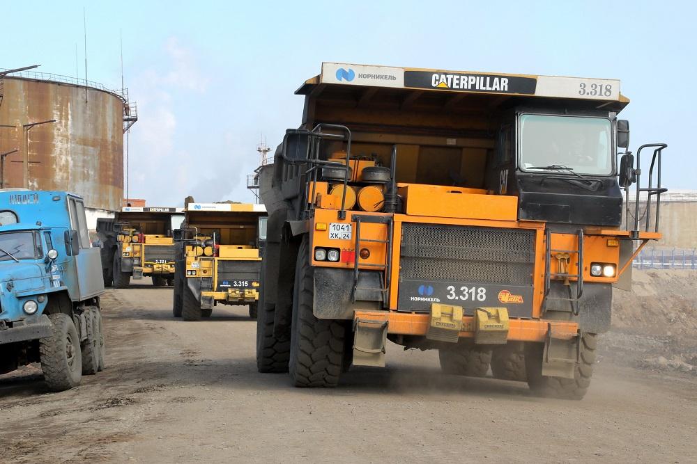 Вывоз грунта на территории, прилегающей к ТЭЦ-3