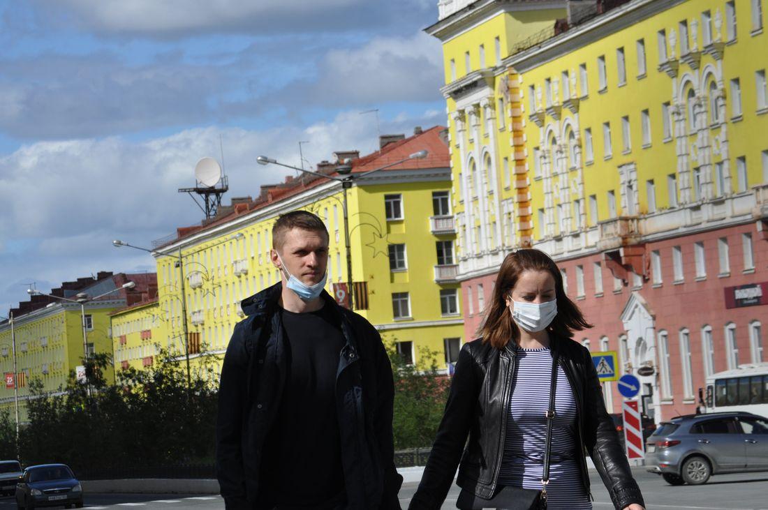 Заболеваемость COVID-19 в Норильске продолжает расти