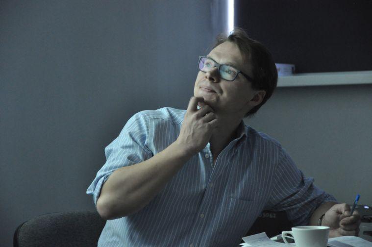 Лауреат Пулитцеровской премии Сергей Пономарев провел в Норильске мастер-класс