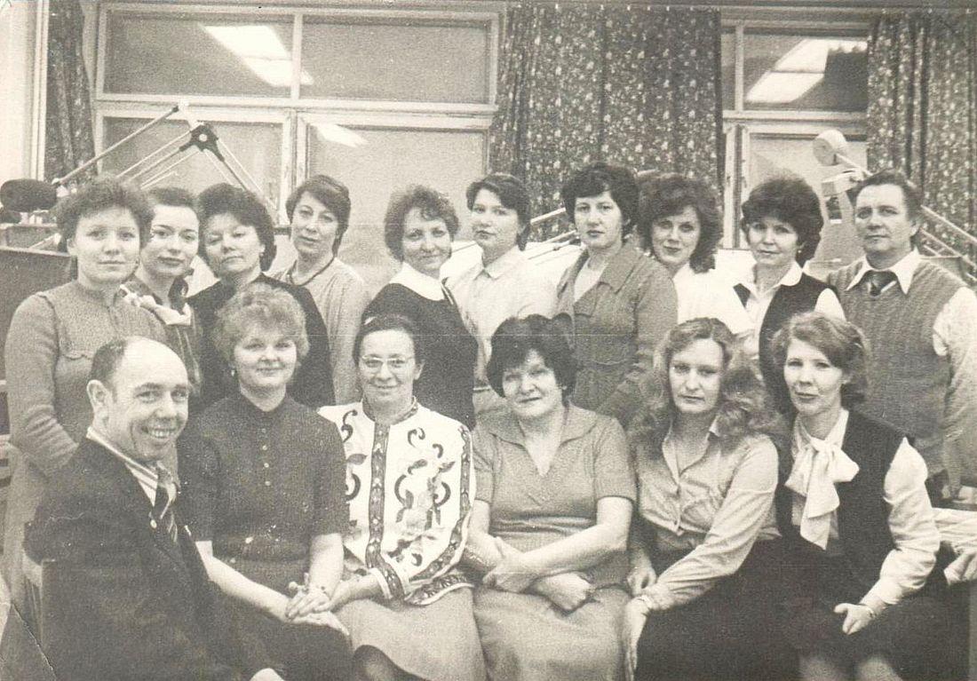 Отдел металлоконструкций, 1985 год