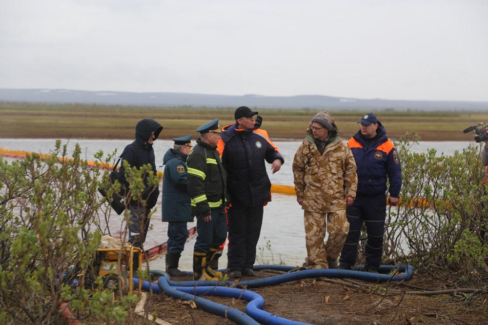 Министру МЧС России доложили о результатах ликвидации аварии на ТЭЦ-3