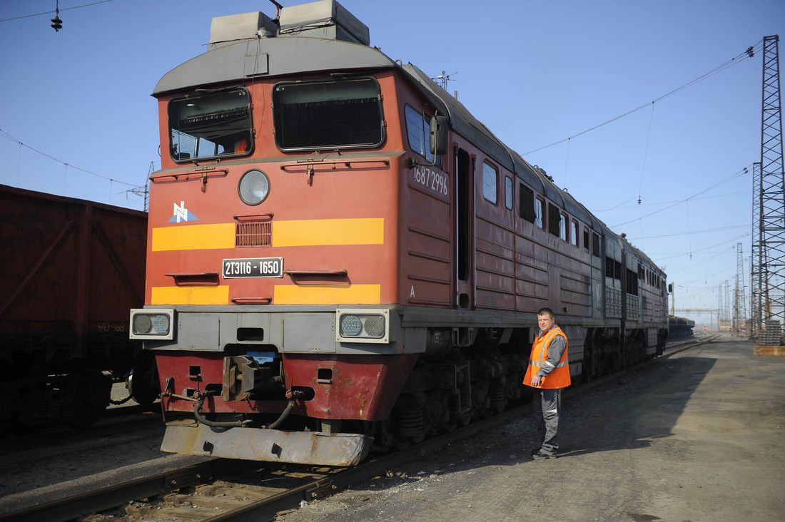 Самая северная в мире железная дорога готова к зиме