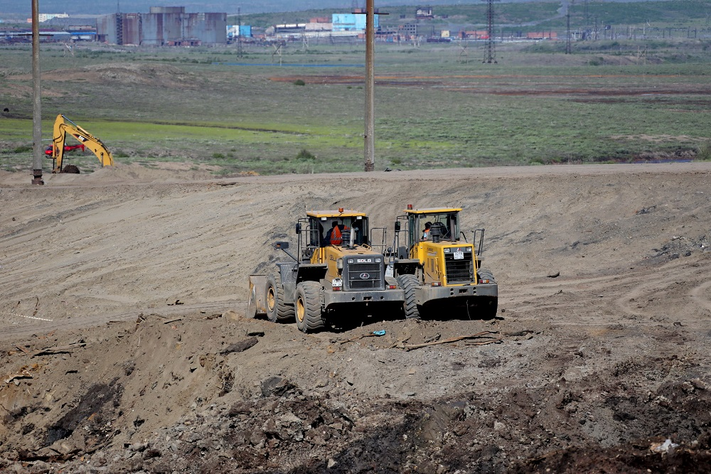 С территории ТЭЦ-3 вывезли порядка 130 тысяч тонн загрязненного грунта
