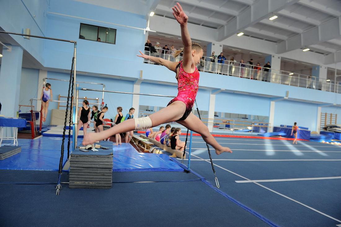 В первенстве Норильска по спортивной гимнастике разыграли семь комплектов наград