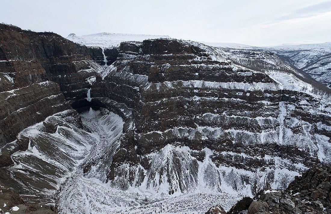 Каньон реки Канда, плато Путорана, 2020 год