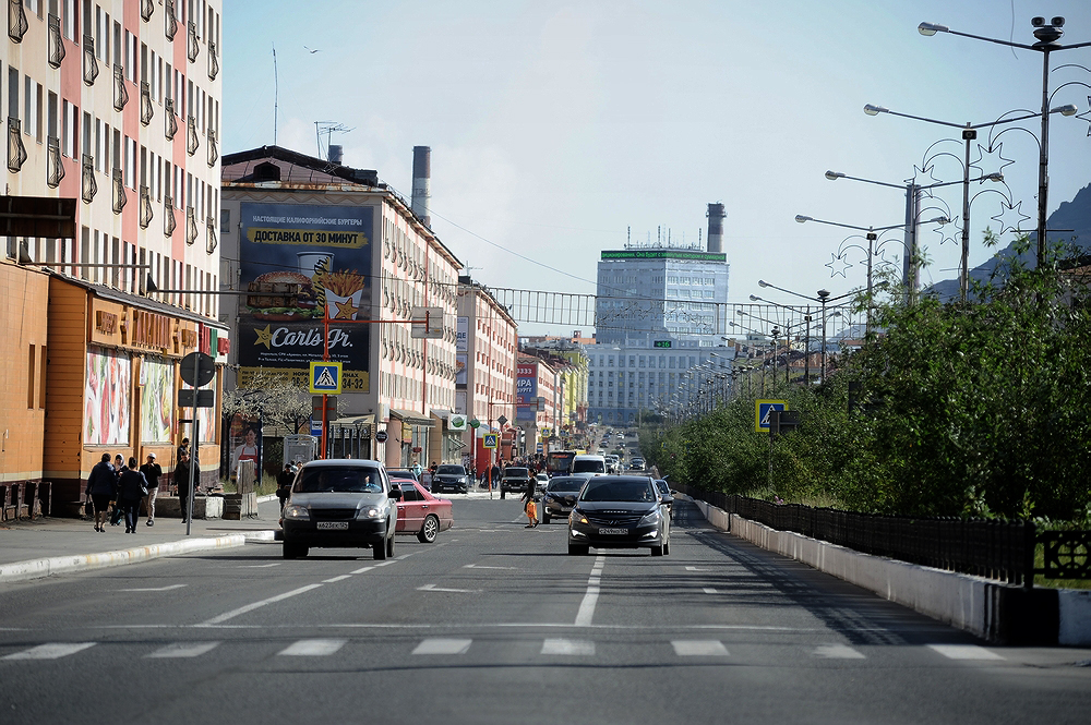Норильск вошел в список самых шумных городов