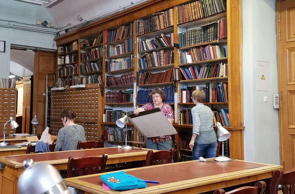 Лариса Стрючкова в Российской национальной библиотеке