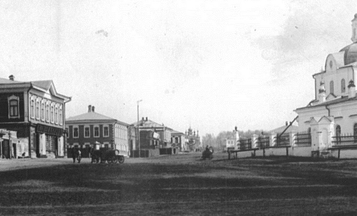 Первый план застройки города был разработан в 1820 году