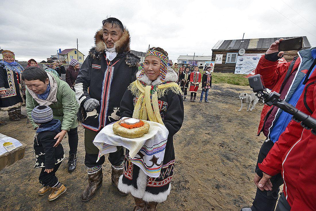 В таймырских поселках радушно встречают гостей