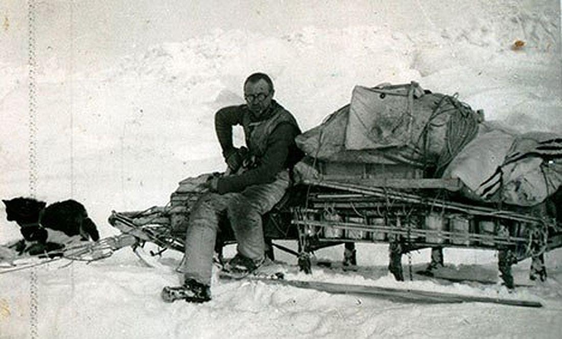 Николай Урванцев в одной из полярных экспедиций