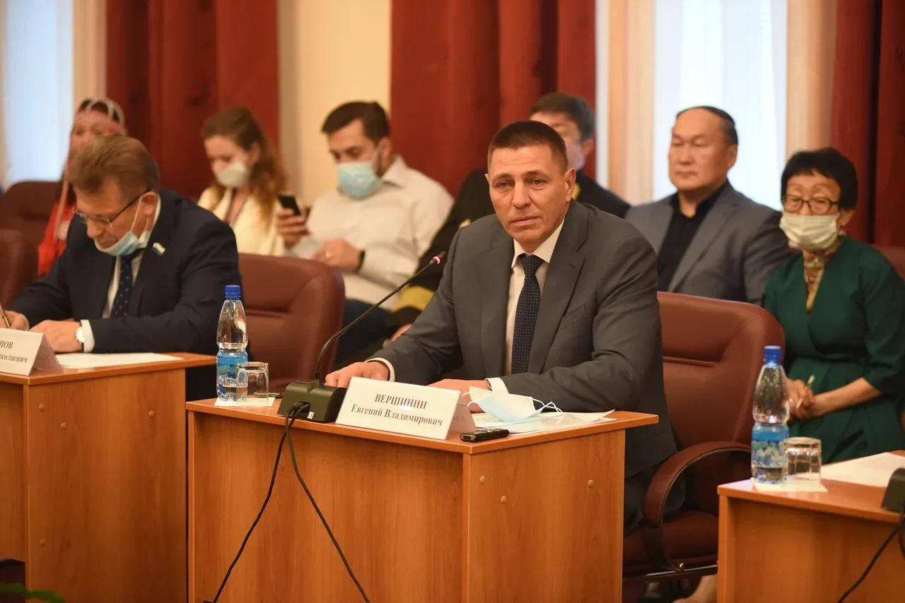 Евгений Вершинин: «Решение проблем Таймыра потребует увеличения участия краевого бюджета»