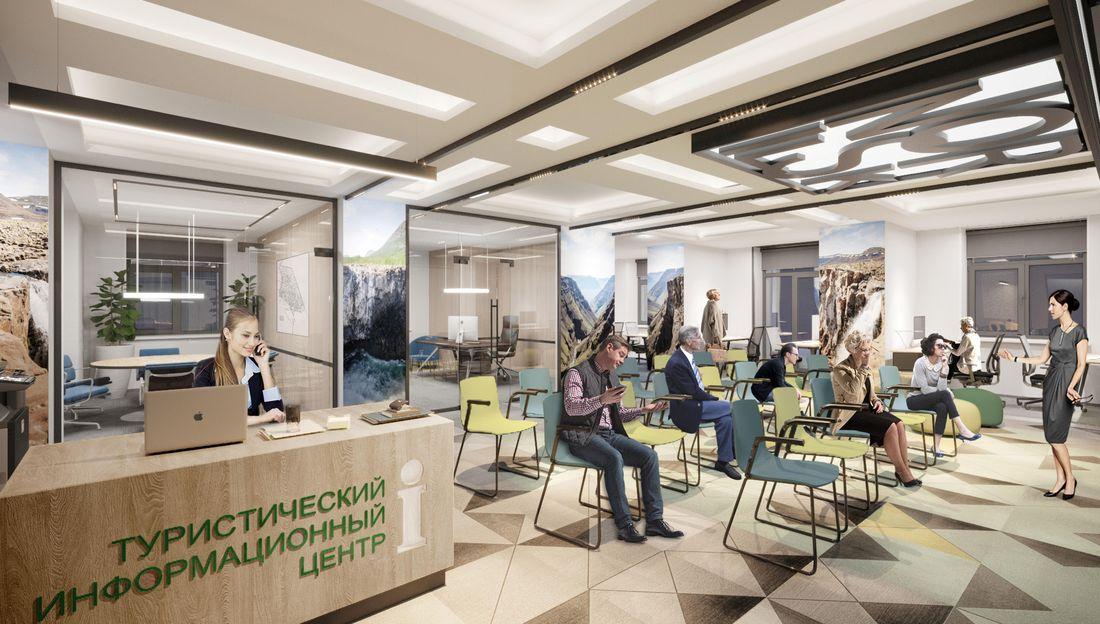Будущий офис туристического центра