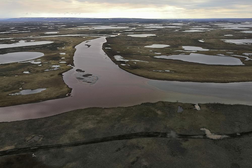 Воду реки Амбарной планируют очистить в течение двух недель