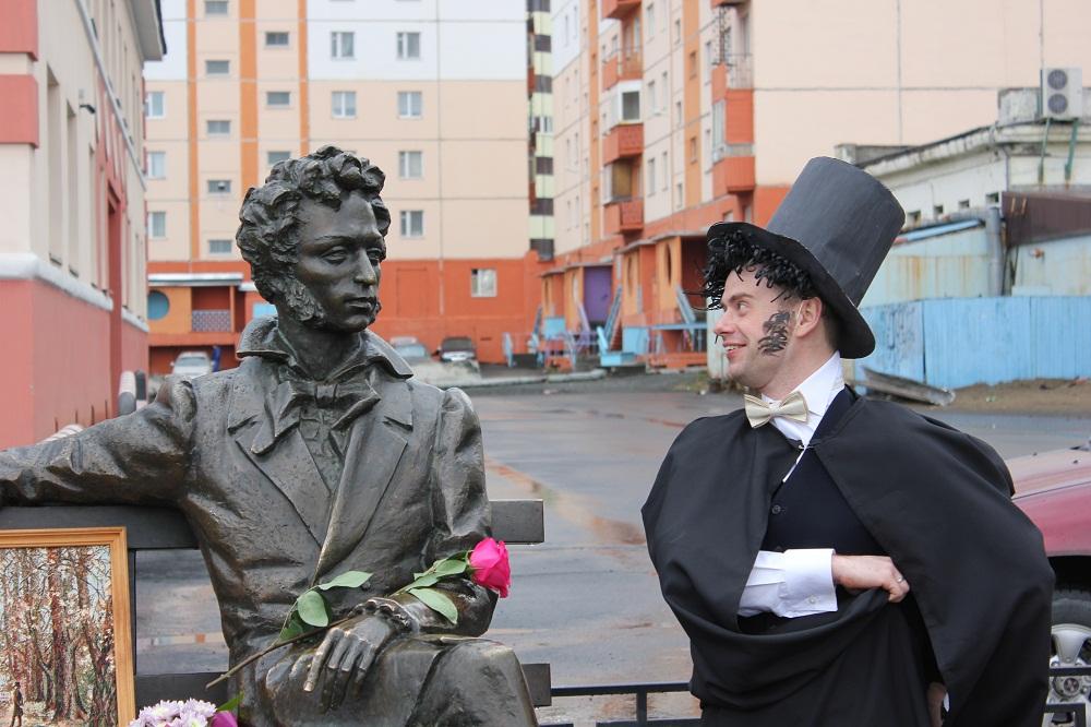 Норильчане отметят день рождения Пушкина оригинальными фотоснимками