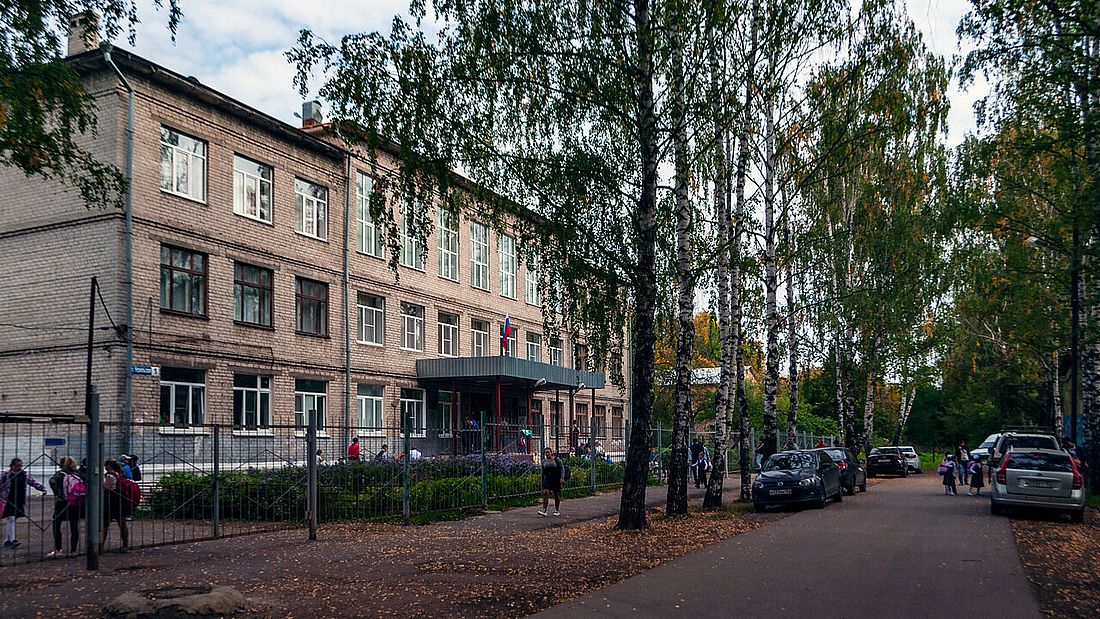 Школа №177 на улице Норильской