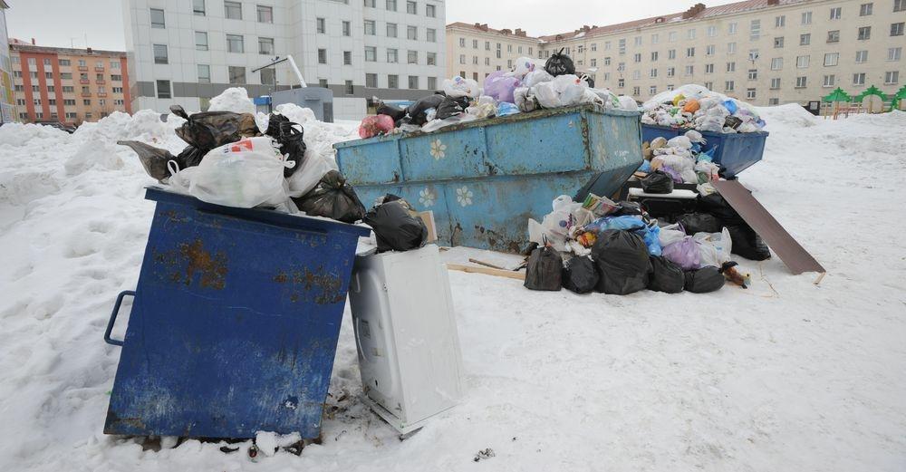 В Норильске организуют специальные места для крупногабаритных отходов
