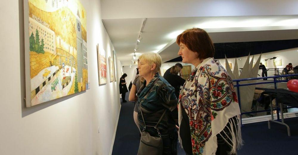 В Музее Норильска до конца ноября гостит выставка живописи Александра Сурикова