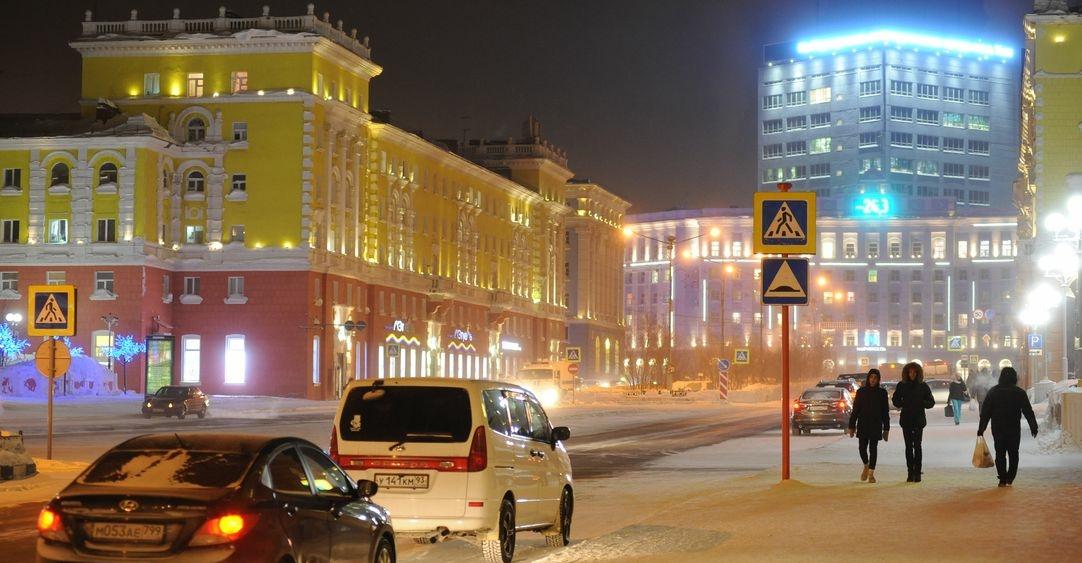 Норильск освещен на 83,3%