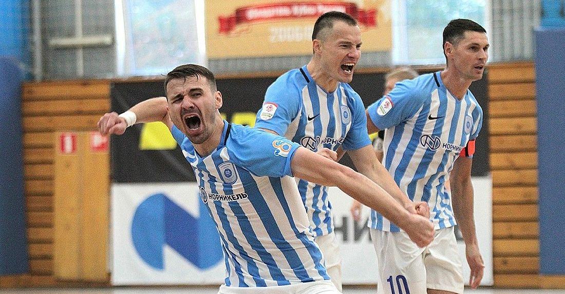 МФК «Норильский никель» вырвал победу в третьем матче серии плей-офф