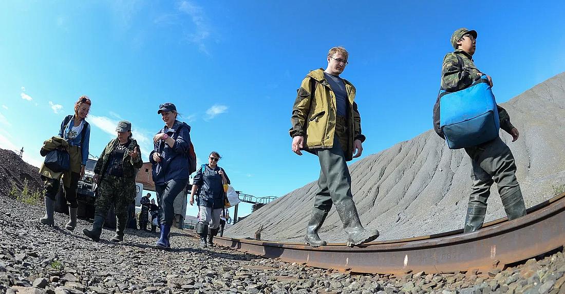 Мерзлотоведы обследовали территорию топливного хранилища на ТЭЦ-3