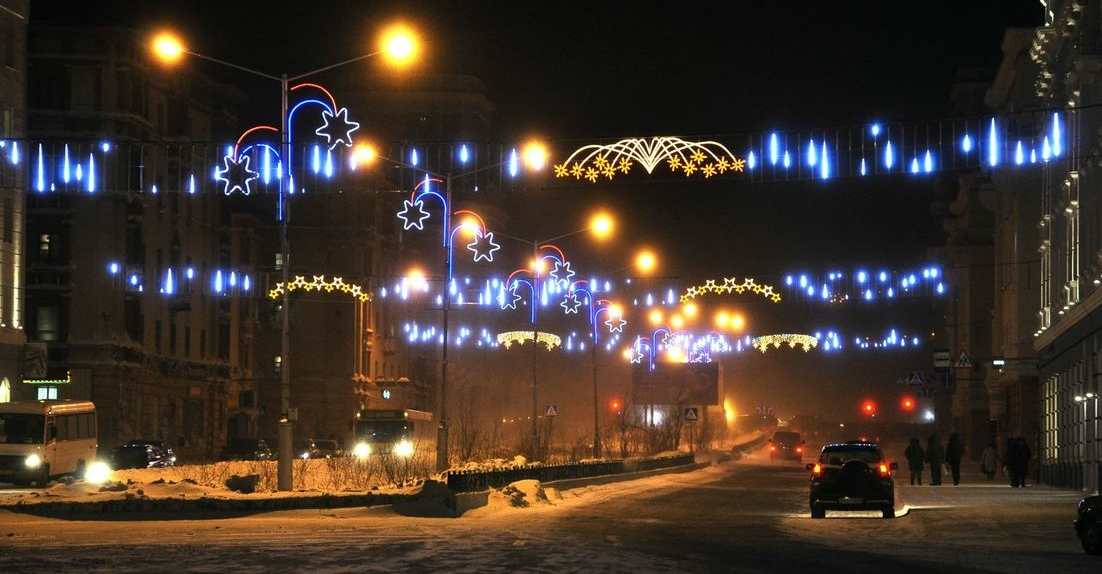 Норильск встретит полярную ночь фестивалем света